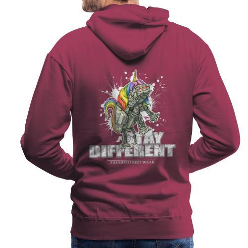 Stay Different - Imperial Unicorn - Männer Premium Hoodie