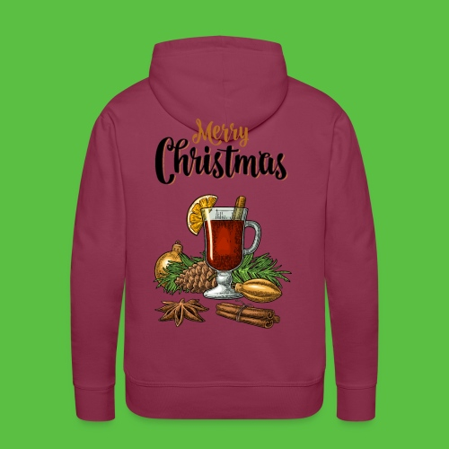Merry Christmas , Glühwein - Männer Premium Hoodie
