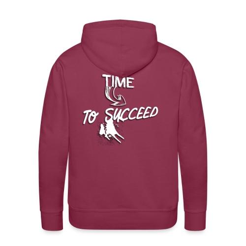 Het tijd - Mannen Premium hoodie