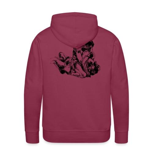 MMA - Sweat-shirt à capuche Premium pour hommes