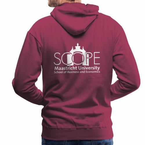 SCOPE Logo White - Men's Premium Hoodie