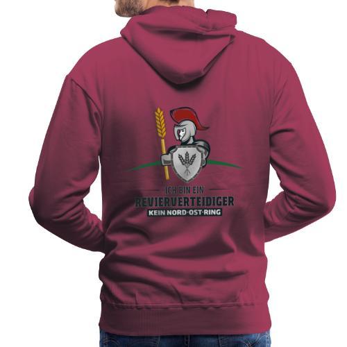 Revierverteidiger rot - Männer Premium Hoodie