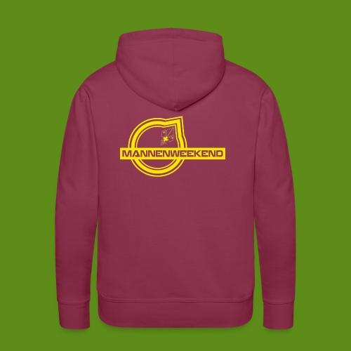 MannenWeekend Outfit - Sweat-shirt à capuche Premium pour hommes