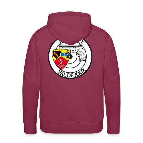 Pistolet Val de Joux - Sweat-shirt à capuche Premium pour hommes