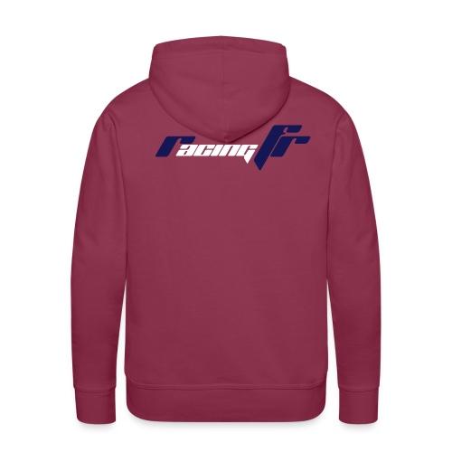 logo rfr 2coul - Sweat-shirt à capuche Premium pour hommes