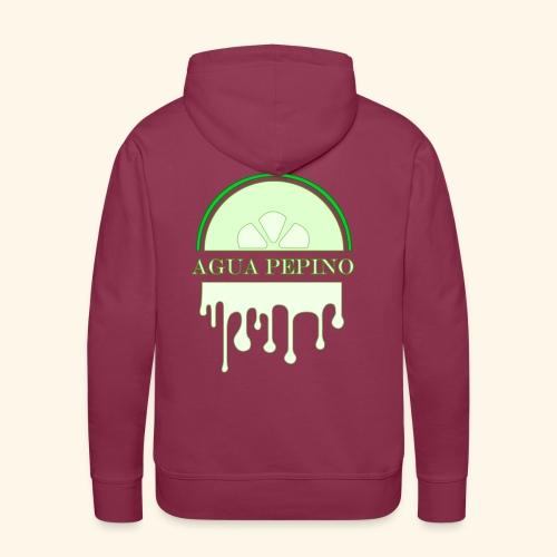 Agua Pepino (Gurkvatten) - Premiumluvtröja herr