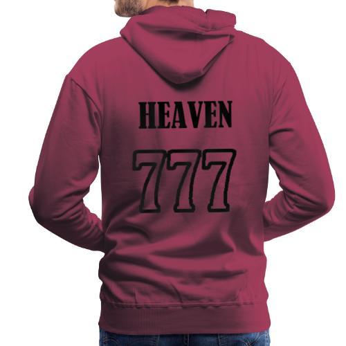 heaven - Sweat-shirt à capuche Premium pour hommes
