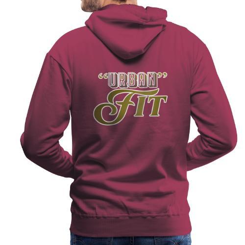 Urban Fit Logo - Men's Premium Hoodie