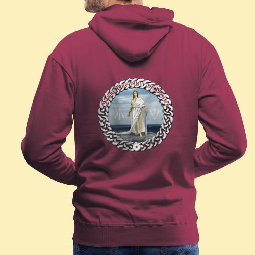 Ordre Druidique de Dahut Logo - Sweat-shirt à capuche Premium pour hommes