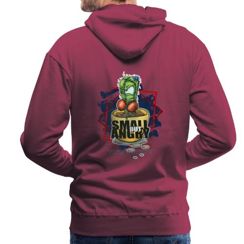 small but angry - Männer Premium Hoodie