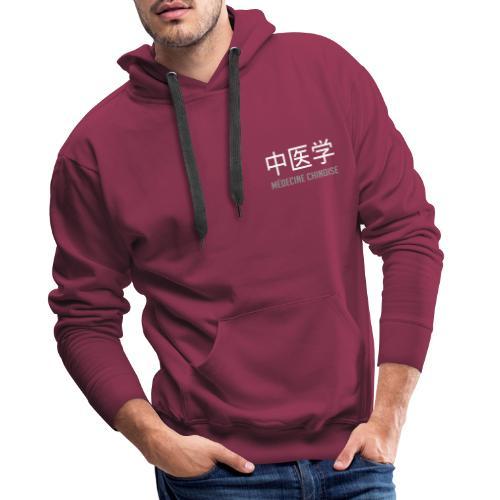 Médecine Chinoise - Sweat-shirt à capuche Premium pour hommes