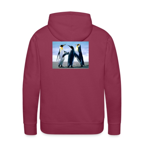 Penguins jpg - Männer Premium Hoodie