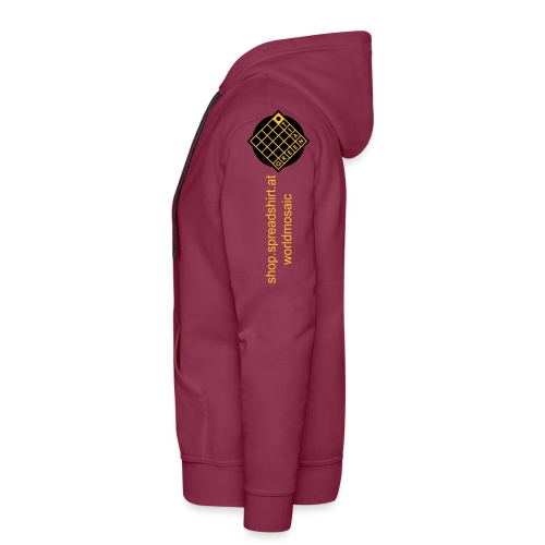 TIAN GREEN Welt Mosaik Shirt - Logo 2020 - Männer Premium Hoodie