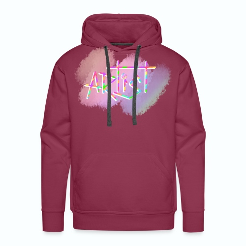 Artist in Colors - Sudadera con capucha premium para hombre