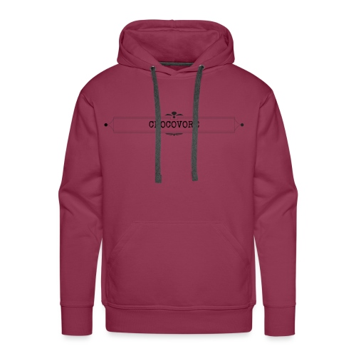 CHOCO ADDICT - Sweat-shirt à capuche Premium pour hommes