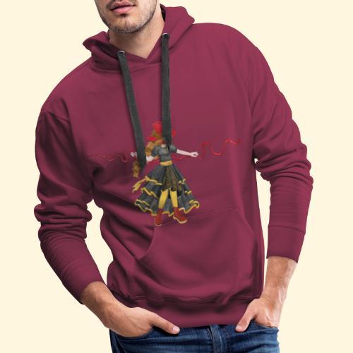 Ladybird - La célèbre uchronaute - Sweat-shirt à capuche Premium pour hommes