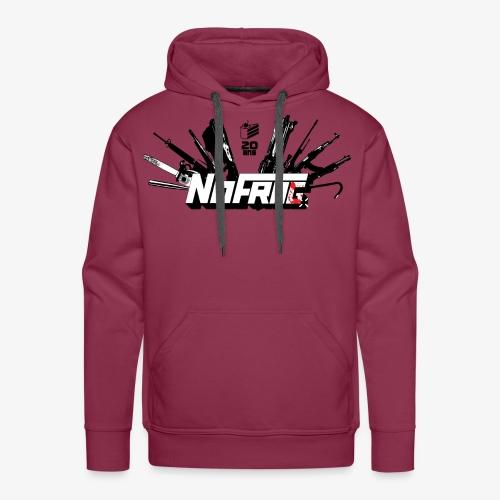 NoFrag - Spécial 20 Ans : Armurerie & Cake - Sweat-shirt à capuche Premium pour hommes