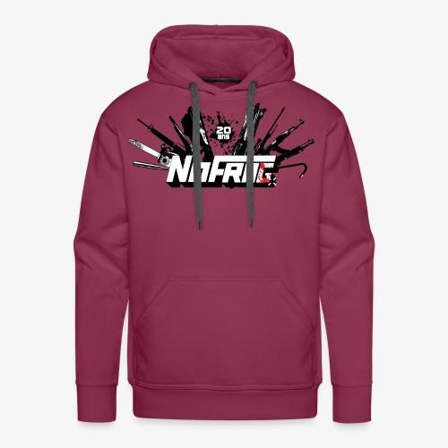 NoFr- Spécial 20 Ans : Armurerie & Black Drop - Sweat-shirt à capuche Premium pour hommes