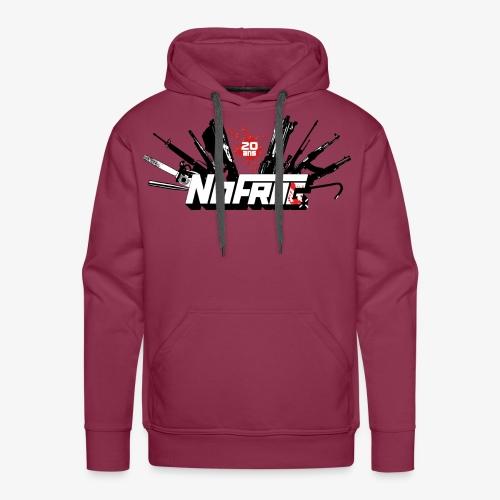 NoFrag - Spécial 20 Ans : Armurerie & Red Drop - Sweat-shirt à capuche Premium pour hommes