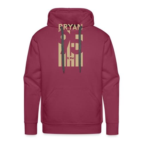 Bryan - Felpa con cappuccio premium da uomo