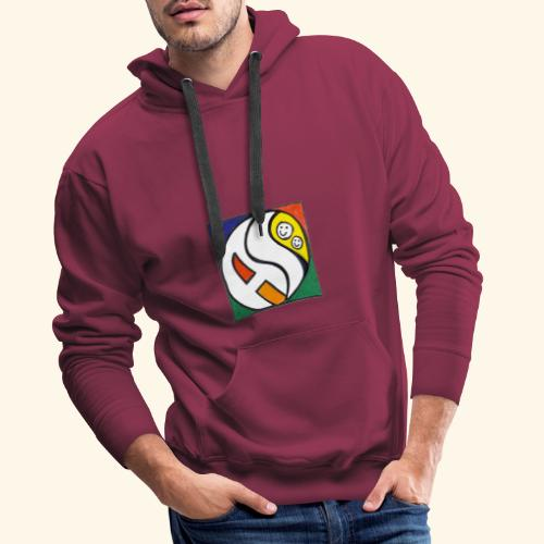 AS (nur Logo) - Männer Premium Hoodie