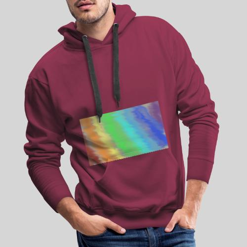 Trippin' colours - Men's Premium Hoodie