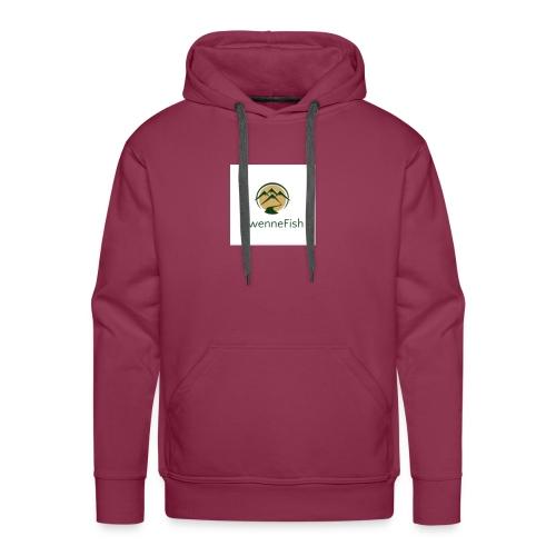 Logo 25 - Mannen Premium hoodie