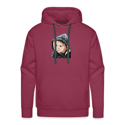 lolo capuche dessin - Sweat-shirt à capuche Premium pour hommes
