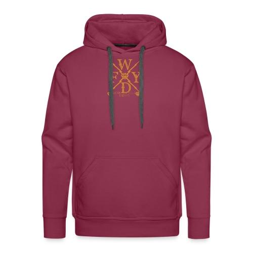 WFYDDOPE GOLD png - Männer Premium Hoodie