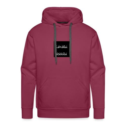 LOMBRA OSCURA - Felpa con cappuccio premium da uomo