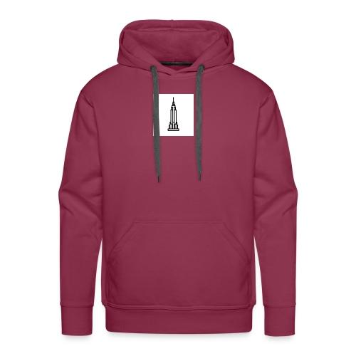 Empire State Building - Sweat-shirt à capuche Premium pour hommes