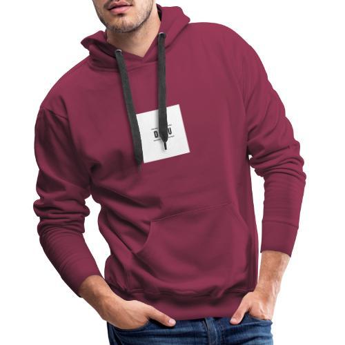 DAAU FIRST TRY - Sudadera con capucha premium para hombre