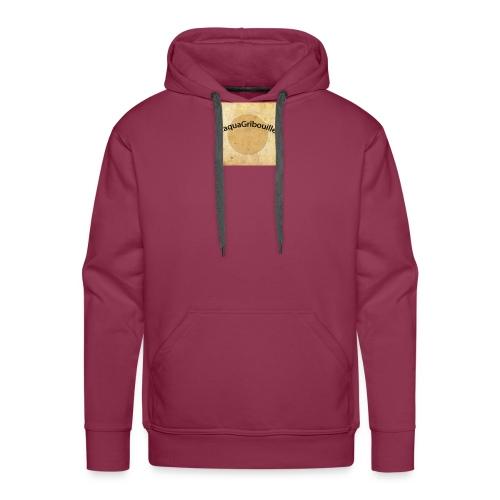 aqua - Sweat-shirt à capuche Premium pour hommes