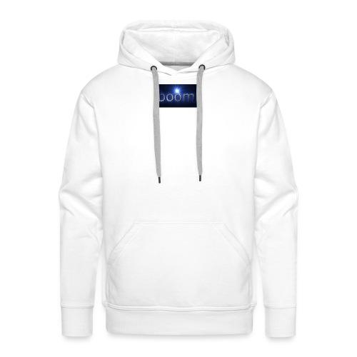 BOOOM - Bluza męska Premium z kapturem