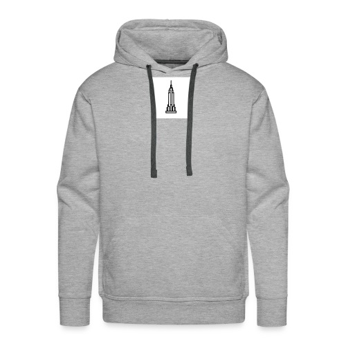 Empire State Building - Sweat-shirt à capuche Premium pour hommes