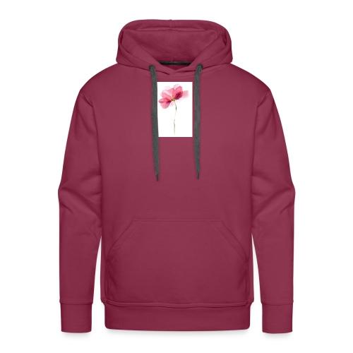 T-Shirt mit Blume - Männer Premium Hoodie