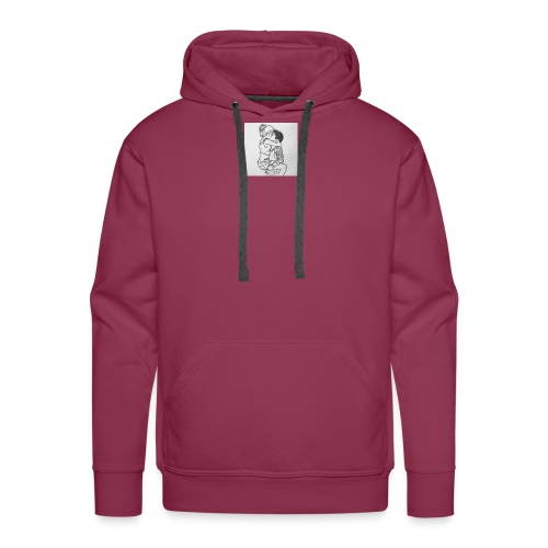 jongen meisje - Mannen Premium hoodie