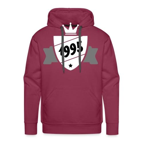 Designs 1995 - Sweat-shirt à capuche Premium pour hommes