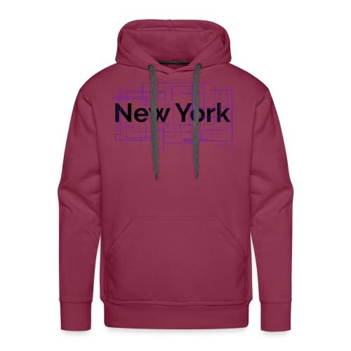 collection New York - Sweat-shirt à capuche Premium pour hommes