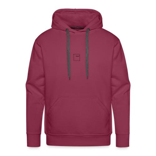 Small logo - Männer Premium Hoodie