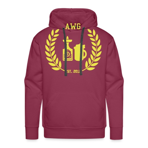 AWG Logo - Männer Premium Hoodie