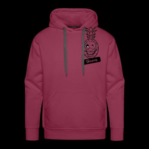 Design Ananas Heavy - Sweat-shirt à capuche Premium pour hommes