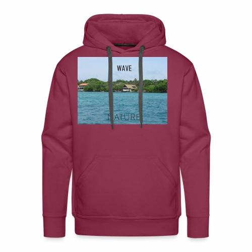 NATURE WAVE - Sudadera con capucha premium para hombre