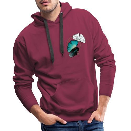 Samouraï panda - Sweat-shirt à capuche Premium pour hommes