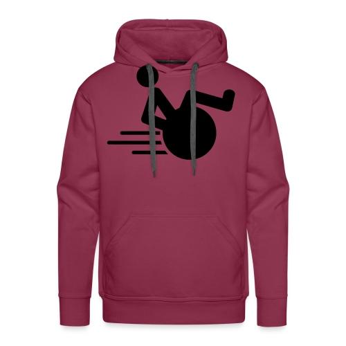 Wheelie1 - Mannen Premium hoodie