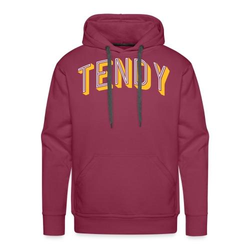 Hockey Goaltender - Tendy - Men's Premium Hoodie
