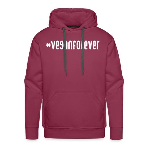 veganforever - Men's Premium Hoodie