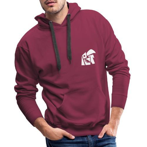 Oedwai Blanc - Sweat-shirt à capuche Premium pour hommes