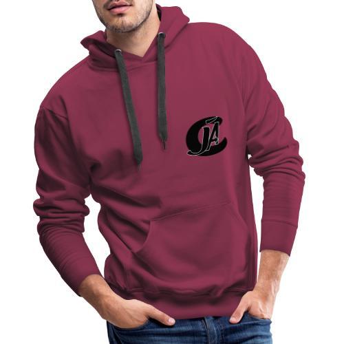 cja design - Sweat-shirt à capuche Premium pour hommes