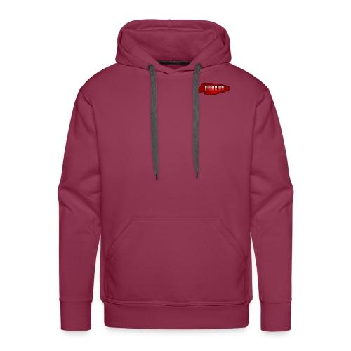 logo trahison - Sweat-shirt à capuche Premium pour hommes